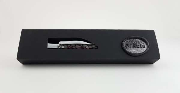Our stunning Pen Box, wax sealed with our logo.